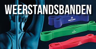 Blok weerstandsbanden | Fitness elastiek | Resistance band