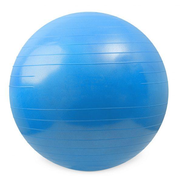 fitnessbal blauw   fitness bal 75 cm   gymbal