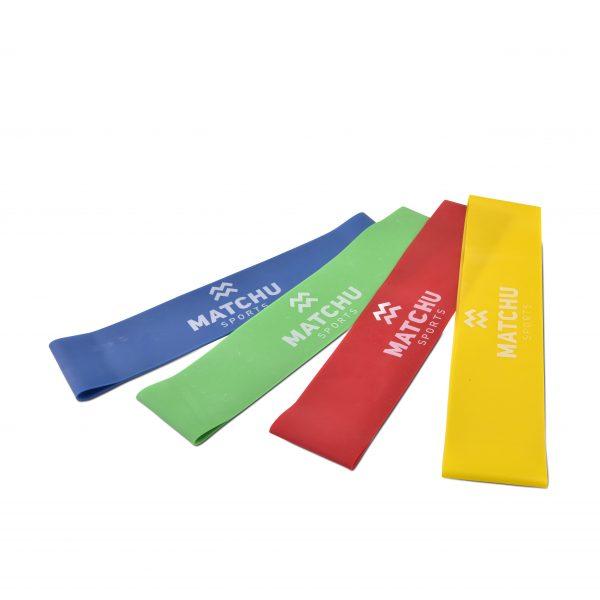 weerstandsbandenset | elastische banden | fitnessbanden