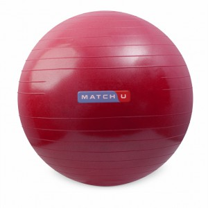 Matchu Sports fitnessbal rood 55 cm | gymbal