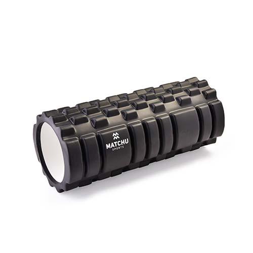 Matchu Sports foam roller zwart 1