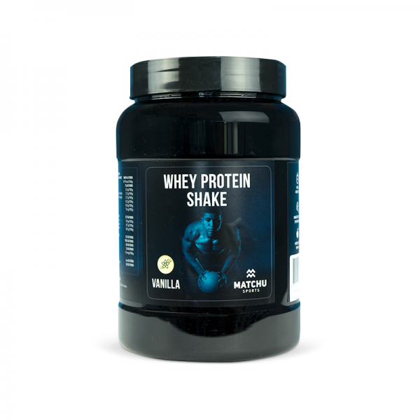 Whey protein 1kg Vanille - matchu sports