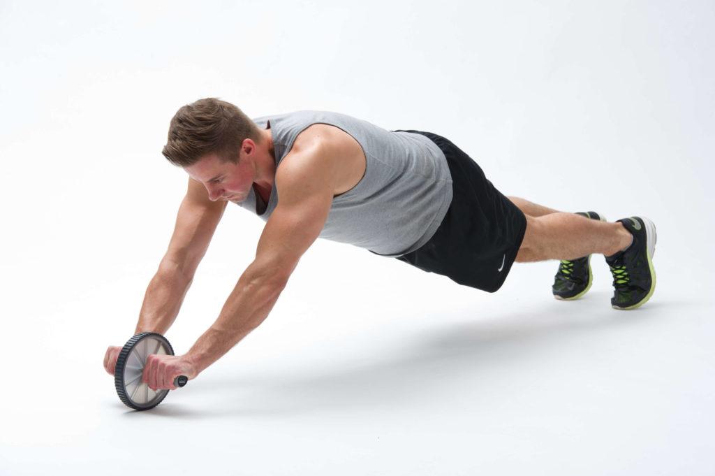 Plank oefening Ab Wheel | Ab Wiel | Buikspierroller