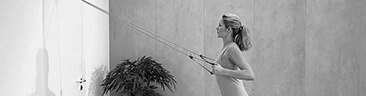 Schouderstretcher oefeningen banner | Shoulder pulley