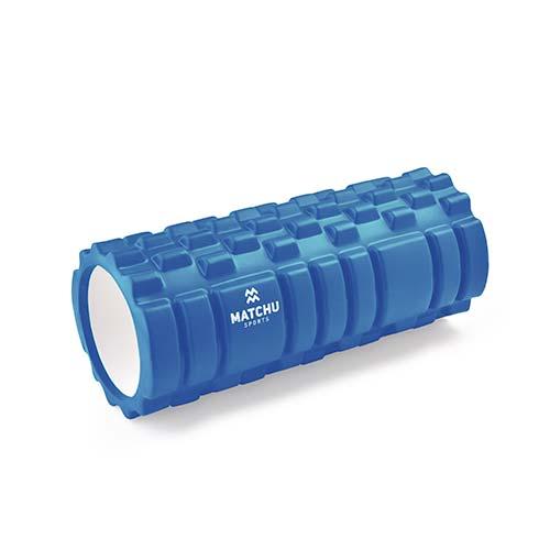 Matchu Sports foam roller blauw 1