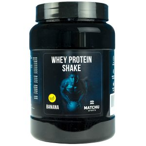 Whey protein 1kg banaan - matchu sports