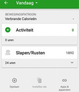 caloriebehoefte berekenen | voedingsschema app