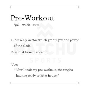 wat is pre workout | pre workout humor