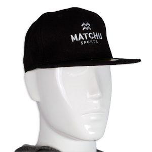 Snapback zwart - matchu sports