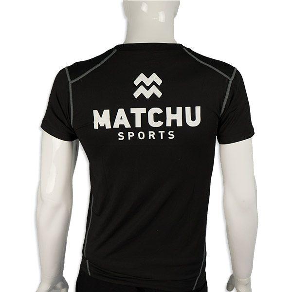 shirt achter - matchu sports