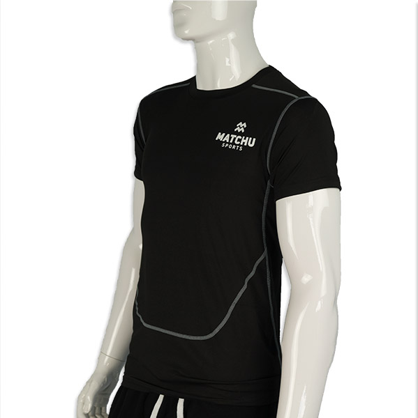 shirt schuin voor - matchu sports