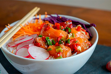 Poke bowl - matchu sports