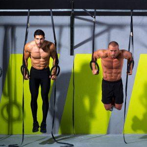gym rings dips