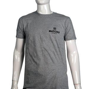 sportshirt lichtgrijs | Matchu Sports t-shirt