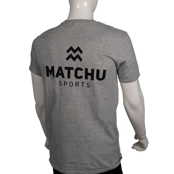 sportshirt | t-shirt lichtgrijs