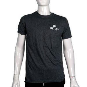 sportshirt | t-shirt donkergrijs