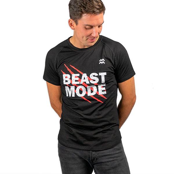 Afbeelding van Beastmode shirt – zwart (L)